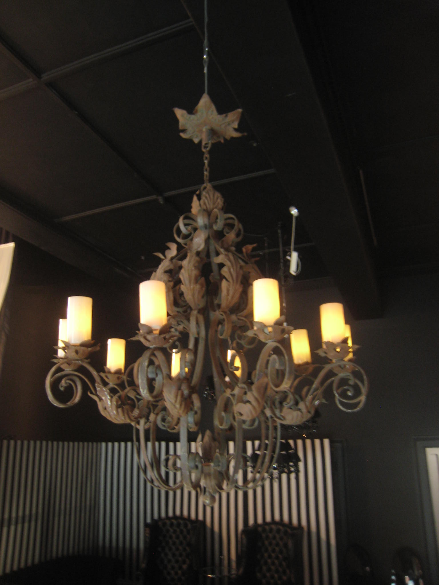 Atmosphere Events Wrought Iron Ceiling Lamp