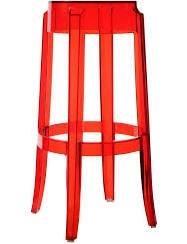 Red ghost stool