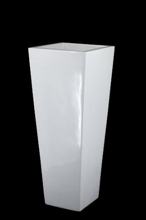 White Pot 38 x 38 x 90cm