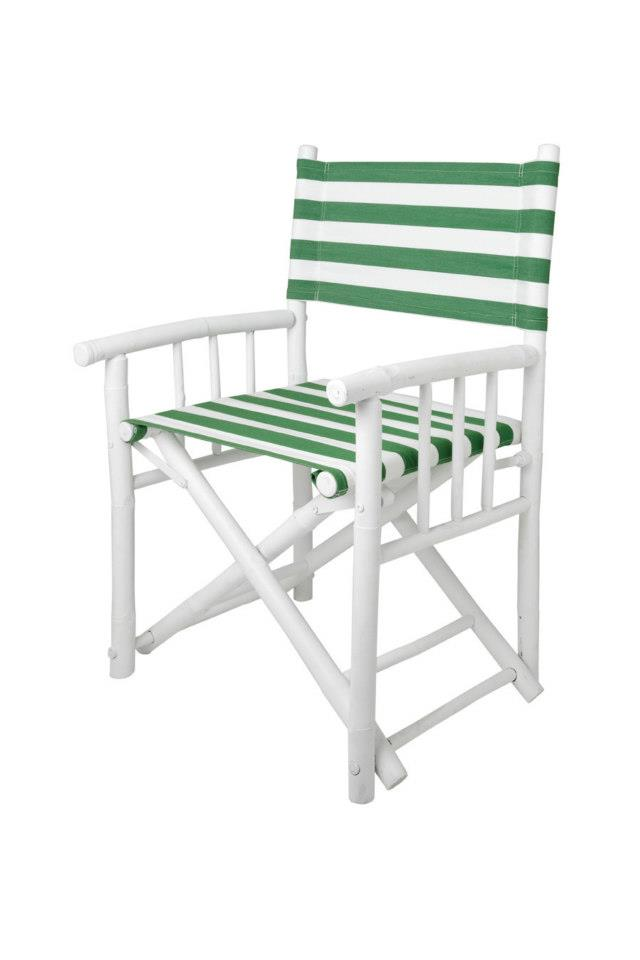 bamboo chair green